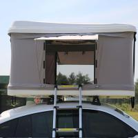 China White 4x4 Rentals In Iceland Car Roof Tent For Small Vehicles / Compact SUVS on sale