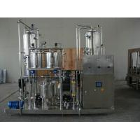 Best High Speed Water Filling Production Line Carbonated Soft Drink Mixer for Glass Bottle wholesale