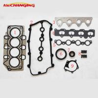 Best For CHERY A1 EGO OR FACE 1.3L Engine Gasket SQR473F 473H METAL Full Gasket Set Overhaul Package 473H-10000A10A wholesale