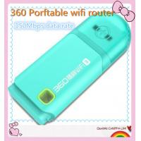 Cheap 360 Free Pocket WiFi Router 360 Portable USB WiFi Router Available for Computer for sale