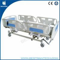 Best Adjustment 750mm ICU Electric Hospital Beds With 3 - Functions Home Care Use wholesale