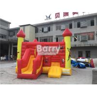 Best Commercial Inflatable Bouncy Slide , Blow Up Combo Jumping Castle For Kids Play wholesale