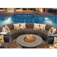 Best Factory price outdoor real flame  bbq gas fireplace round fire pit wholesale