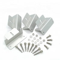 Best Anodised Aluminium Alloy Extrusion Profiles Clamp For Solar Mounting System wholesale