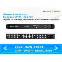 Buy cheap 3.7kg Four Frequencies DVB-T CATV QAM Modulator With 128 IP / 8 Tuner Input product