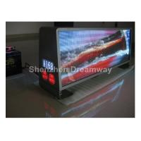 960×320mm Aluminum P5 Taxi LED Display Top Advertising with 3500nits