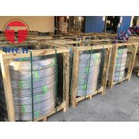 China ASTM A249 304 316  Welded  Stainless Steel Capillary Coiled Tubing Beer Tube Coil on sale