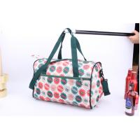 Best OEM High Quality Beautiful flower printing cheap luggage for travel or sports wholesale
