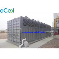 China CO2 Refrigeration Station Freezer Condensing Unit / Machine Room Free Cascade Compressor Unit on sale