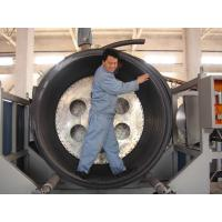 Best PE Hollowness Wall Spiral Pipe Extruder , 200-3000mm Spiral Pipe Making Machine wholesale