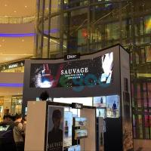 Commercial Advertising P2.976 Full Color HD LED Display 9500K - 11500K