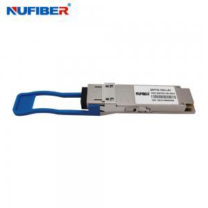 Best compatible Huawei 100G QSFP28 LR4 20KM LC receptacle DDM 1310nm Optical Transceiver Module wholesale