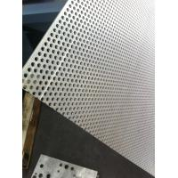 China ceiling Perforated Decoration Metal Sheet , Perforated Stainless Steel Mesh on sale