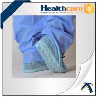 Best Non Skid Disposable Shoe Covers / Medical Booties Shoe Covers Breathable 35gsm wholesale