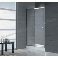 Best Straight frameless glass shower 1600mm x 1850mm with Aluminium Frame wholesale