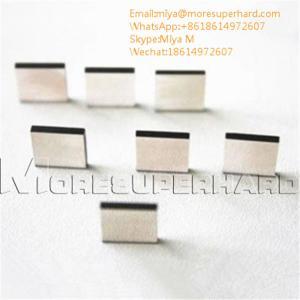 China CVD synthetic diamond plates for ultra precision cutting tools miya@moresuperhard.com on sale