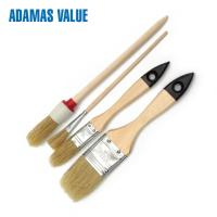 Cheap Pig Bristle Natural Bristle Paint Brush Tapered Filament With Any Color for sale