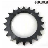 Best Black color wheel with sprocket , 45C chain wheel sprocket Simplex Row wholesale