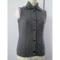 Cheap cable cashmere vest sweater 08KH-08 for sale