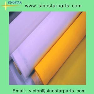China Polyester Mesh Silk Screen Printing Fabric on sale
