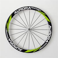 China AURORA RACING EN standatd 38T-25mm tubular carbon fiber bicycle wheels with UD Matt  with DT350s hubs on sale