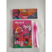 Best Cute trolls notebook sets Stationery Gift Sets for back to school kids wholesale