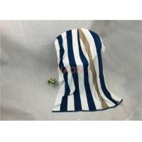 China Density Beautiful Bath Towel With Jacquard Edge , Hotel Beach Towel on sale