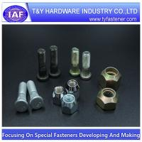 China A-1005 wheel bolt zp/zyp/zinc green plated/HDG/DAC on sale