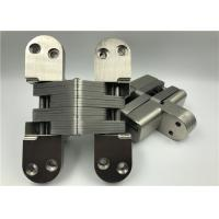 Best High Hardness Heavy Duty Invisible Hinge With Satin Nickel Surface wholesale