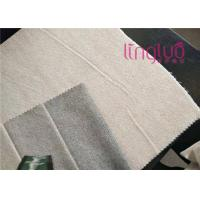 Best Custom Plush Grid Polyester Shoes Fabric Good Color Fastness wholesale