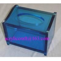 Best Practical home & hotel decoration acrylic tissue box produced from China manufacturer wholesale
