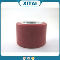 High Quality Factory Supplied Polyurethane Material 80 Shore A to 75 Shore D heavy duty solid pu wheels