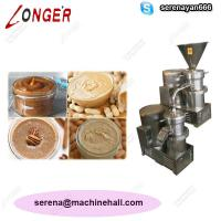 Buy cheap High Quality Peanut Paste Making Machine for Sale|Tahine Grinder Price product
