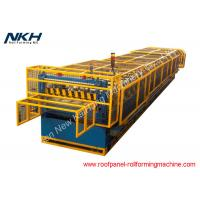 Best Popular Wall Panel Making Machine , Metal Sheet Roof Roll Forming Machine wholesale