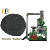 Best 10 Mesh Rubber Grinding Machine , Coarse Powder Mill With Water Cycle Cooling Systems wholesale