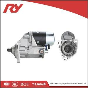 Best Electric  Diesel Isuzu Vehicle Starter Motor 24V 4.5Kw 1-81100-191-0 6BB1 6BD1 wholesale