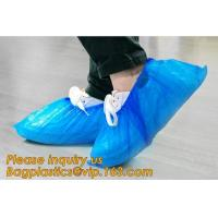 Best THICK DISPOSABLE,DUST-PROOF,CPE COATED,SMS BOOT COVER,NON WOVEN SHOE COVER,heavy duty polypropylene fabric shoes cover wholesale