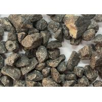 China Brown Corundum Unshaped Refractory Materials For Abrasive , Sandblasting on sale