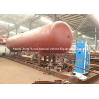 Best 50000L LPG Gas Tank Skid Mounted , Propane Gas Tank For Mobile Gas Refilling wholesale