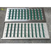 China Bottomless Punched Decking Stainless Steel Floor Drain Grate Trench Cover Mesh on sale