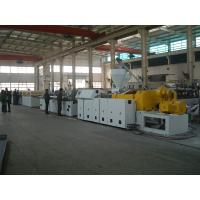Best High Speed Plastic Profile Extrusion Machine / WPC Profile Machinery with Twin Screw Extruder wholesale