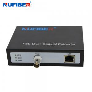 Best NF-9801 EOC+POC+POE Converter IP Ethernet Over Coax Extender for cctv IP Cameras security systems wholesale