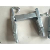 China Swinging Angle Bracket Power Line Fittings Shield Wire Support Heavy Duty Pole Band on sale