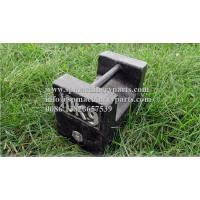 China Customized New Design  Small scale cast iron test weights 10kg Metric Light Capacity Grip Handle Weights on sale