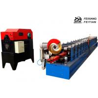 Best Automatic Downspout Roll Forming Machine 15 m/min Speed Gutter Making Machine wholesale