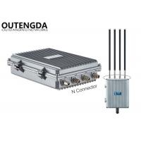 China Dual Band Gigabit Wireless AP Base Station N Connector Outdoor Wireless Networking on sale