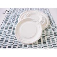 Best Round White Takeaway Food Containers / Tray 8oz - 40oz Water Resistant For Cafes wholesale
