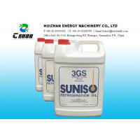 Cheap Net Content 3.78L Suniso Lubricant Refrigerant Oil 3GS Mineral Oil with refrigerant gas for sale