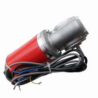 Black casing Permanent Magnet Automatic Sliding Door Motor 24VDC 60W or 100W No Load Speed 200RPM