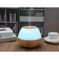 China 7 LED Lights Air Mist Home 300ml Bamboo Wood Aromatherapy Diffuser on sale